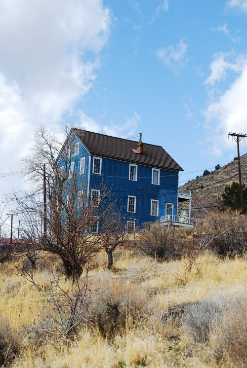 The Blue House c2012