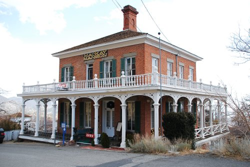 The Mackay Mansion 1860 | c2012